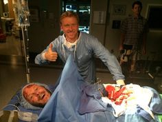 Grey's Anatomy Season 11 Premiere: Bloody Behind-the-Scenes Photo!