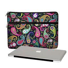SALE Laptop Sleeve Laptop Bag Laptop Case colorful paisley - Sizes: 15, 17 PC / 13, 15, 17 MacBook Pro / 11, 13 Air / 13, 15 Retina (MTO) on Etsy, 274:66 kr