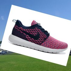 Nike Roshe Run Flyknit Rosa Scarpe Donna,,Fashion sneakers color and style must be of your interest.