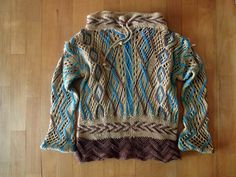 Sprang tunic for a child