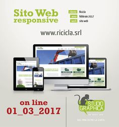 Il primo marzo è on line il sito di Ricicla.