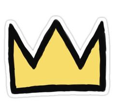 82545cc9a0e Riverdale Jughead s Crown Sticker