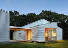 low energy residence - Passivhaus is a voluntary standard that ensures energy efficiency in buildings and this low energy residence in Maine is designed after these stand...