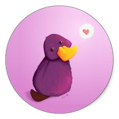 Platypus. Cutest ever. And the colors even match!