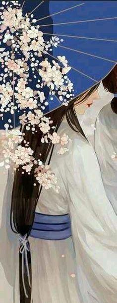 【古图专帖】——『美女系列』—— 撑伞女...