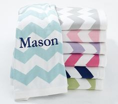 Chevron Stroller Blanket | Pottery Barn Kids