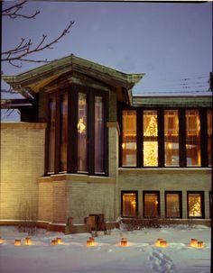 Dana-Thomas House. Springfield Illinois, 1902. Frank Lloyd Wright. Prairie Style