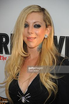 Vocalist Maria Brink of In This Moment arrives Annual Revolver Golden God Awards at the Club Nokia on April 2011 in Los Angeles, California. Maria Brink, Nu Metal, Heavy Metal, Rocker Girl, Latest Music, Great Bands, American Singers, Female Bodies, In This Moment