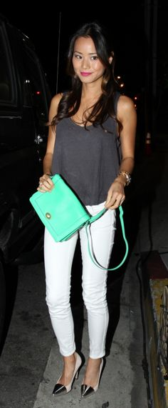 Jaime Chung leaving Palihouse in West Hollywood, CA. 9-20-2012