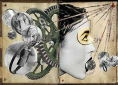 Franz Falckenhaus Mixed Media Collages - The English Group Design Blog, Collages, Surreal Collage, Photomontage, Dadaism Art, Paper Collage Art, Creative Background, Mixed Media Collage, Dada Collage