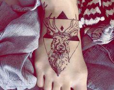 #deer #tattoo #rule #hipster