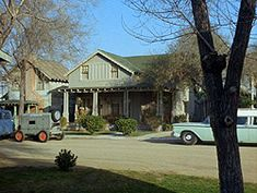 Sheriff Andy Taylor, Opie and Aunt Bea's house