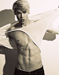 The SOLE reason I watch Glee. Chord Overstreet. I absolutely MUST have his beautiful blonde babies.