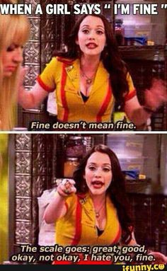 2 Broke Girls funny scene (this is incredibly true) haha Funny Quotes, Funny Memes, Hilarious, Funny Captions, Funniest Memes, Tv Quotes, Funny Humour, Drunk Humor, Ecards Humor