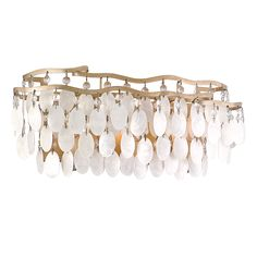 This capiz shell bath light is a dramatic addition to your decor. 18 wide x high. Extends 5 from the wall. Uses three maximum 60 watt candelabra bulbs (not included). Style # at Lamps Plus. Bath Fixtures, Light Fixtures, Vanity Lighting, Bathroom Lighting, Light Bathroom, Luxury Lighting, Lighting Design, Style Cape Cod, Craft Iron