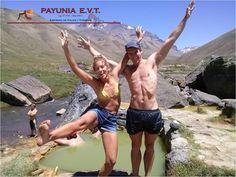 Ellos nos visitaron y vivieron un experiencia de relax de alta montaña en las termas de #Cajongrande