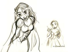 scurviesdisneyblog:  By Glen Keane