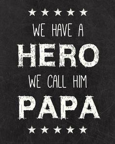Papa Free Printable - Gerepind door www.gezinspiratie.nl #Papaspiratie #vaders #kinderen #papa #daddy