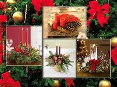 Resultado de imagen para centros de mesa de navidad