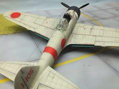 A6M Zero overhead view