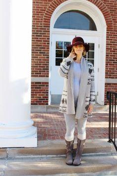mama style // fall fashion // style the bump