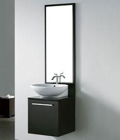 Alassio Modern Single Sink Bathroom Vanity by Madeli Discount Bathroom Vanities, Contemporary Bathroom Vanity, Modern Bathroom, Vanity, Small Bathroom Vanities, Universal Design Bathroom, Single Sink Bathroom Vanity, Contemporary Bathroom, Bathroom