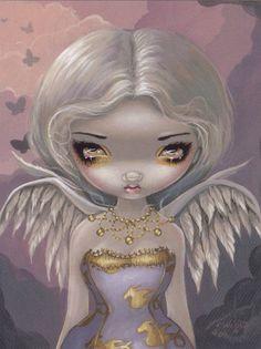 CP    L Ange de Lilac , illustration  Jasmine Becket, neuve