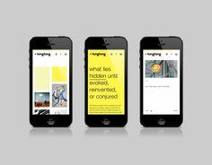 Mobile website for interior designer and architect John Tong designed by Blok.