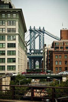 Brooklyn and the Manhattan Bridge