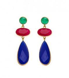 Pendientes de Fiesta Largos. Y como sabéis... ¡todas nuestras joyas son PERSONALIZABLES! Consúltanos!! ☺
