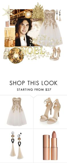 """The First Noel//Love Josh Groban's Christmas album!"" by lulu15emma ❤ liked on Polyvore featuring Burberry, Chi Chi, Topshop, Tory Burch, Charlotte Tilbury and Laura Ashley"