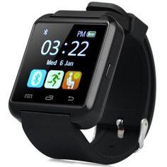 Toobur Bluetooth Smartwatch Wrist Watch Anti-lost Passometer Photograph U8S Smart Watch Sportwatch