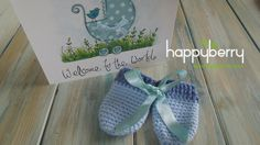 (crochet) How To - Crochet Baby Scratch Mittens - Yarn Scrap Friday
