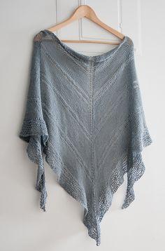 Lace shawl.