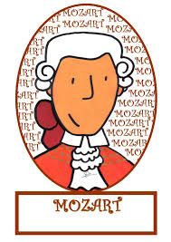imagenes mozart para niños - Buscar con Google Classical Music Composers, Amadeus Mozart, Music And Movement, Piano Teaching, Music Activities, Music Classroom, Music Theory, Music Lessons, Music Education