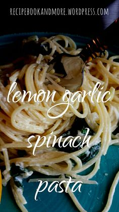 Meatless; creamy, garlicky, lemony pasta. The hubs even enjoyed it and he is not even a pasta fanatic like I am. Tastes like it's straight from a restaurant!