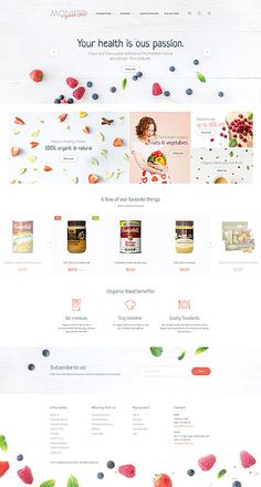 Template 58960 - Moniffe Food  Responsive Magento  Theme