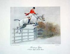 """Cecil Aldin from book illustration """"The Story of a Sporting Artist by Roy Heron."""