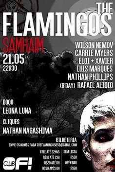 #VEJA Of Club: The Flamingos  Samhaim #agenda @paroutudo via ParouTudo http://ift.tt/22iKSfY #Raynniere #Makepeace