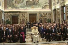 Fortune-Time Global Forum 2016 With Pope Francis Concludes at the Vatican.
