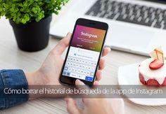 Cómo borrar el historial de búsqueda de la app de Instagram