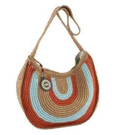 Idea for bags Crochet Tote, Crochet Handbags, Crochet Purses, Diy Crochet, Crochet Cross, Crochet Accessories, Bag Accessories, Hand Knit Bag, Tapestry Crochet