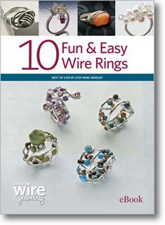 I can't wait to start making my own beatiful wire rings. Looks easy enough for a novice jewelry maker!
