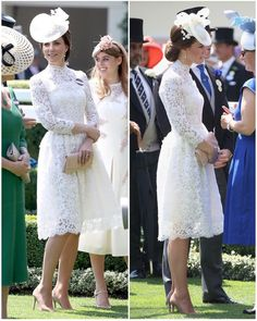 "3,133 Likes, 50 Comments - Catherine Duchess Of Cambridge (@katemidleton) on Instagram: ""A beautiful new McQueen dress for The Duchess today at Ascot!"""