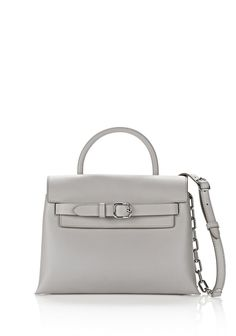 5150e97434 ALEXANDER WANG EXCLUSIVE ATTICA CHAIN CROSSBODY IN HEATHER GRAY WITH  RHODIUM Shoulder bag Adult 12 n f Heather