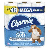 Charmin Ultra Soft Toilet Paper 12 Mega Rolls Charmin Bath Tissue Toilet Paper