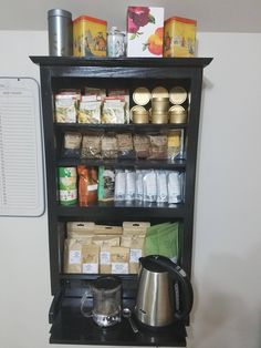 My dad is a retired carpenter and he decided to make me a cabinet for all of my Tea and I am really happy with it. Hope you like it! #tea #greentea #teatime #win #90sBabyFollowTrain