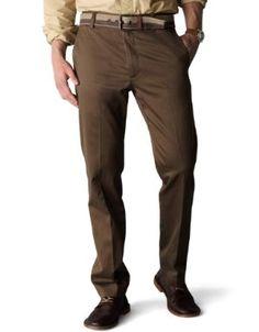 Dockers Men's Signature Khaki D1 Slim Fit Flat Front Pants.