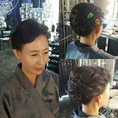 집안행사있을때마다 한복메이크업 받으시는 가족들 ~ Up Styles, Hair Styles, I Gen, Cosplay Tutorial, Wedding Hairstyles, Hair Plait Styles, Hair Makeup, Hairdos, Wedding Hair