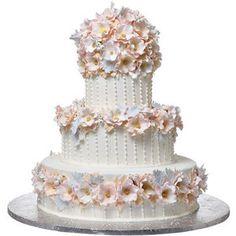 Shop A Matic Wedding Cakes Lush Flower Cake